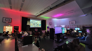 Tunnelmakuva Bonehill Gaming eSport -pelitapahtumasta (Kuva: Erno Salmela)