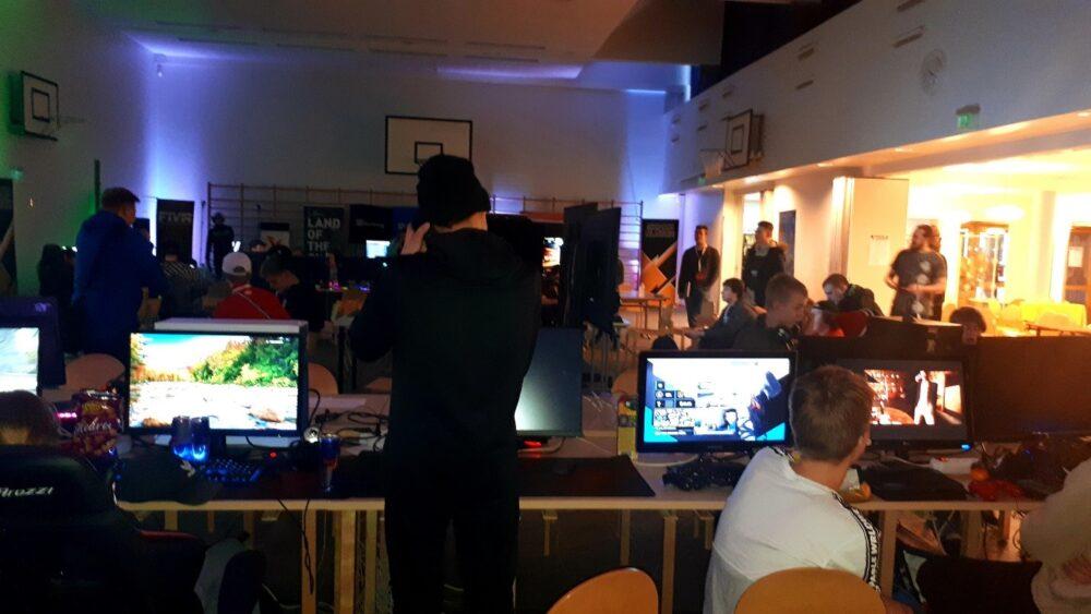 Bonehill Gaming-tapahtumassa riitti vilskettä (kuva: Erno Salmela).
